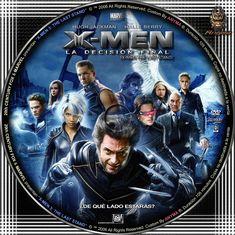 X-Men: La decisión final X Men, Capas Dvd, Cds, Last Stand, Cd Cover, Halle Berry, Hugh Jackman, Finals, Overlays