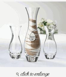 Colored Sand Personalization Option Elegant Real Wooden Unity Wedding Sand Ceremony Horizontal Frame Set Pyramid Shaped Vases