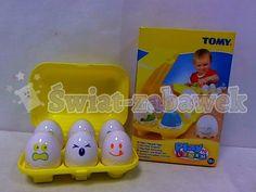 TOMY P2L piszczące jajeczka 6szt w pojemniku E1581