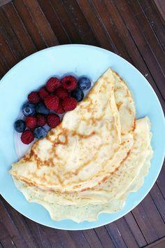 Swedish Pancakes (Pannkakor) just like my grandmothers always made! from @AbdulAziz Bukhamseen Week for Dinner