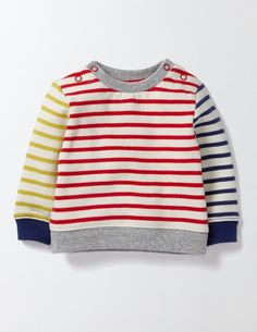 Fun Sweatshirt (Hotchpotch Stripe)