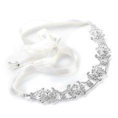 Swarovski Crystal Bridal Headband with Ribbon - White or Ivory Mariell,http://www.amazon.com/dp/B005DBBKF0/ref=cm_sw_r_pi_dp_-U0wsb16YPK93GQD