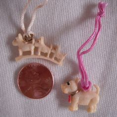 Scottie Dogs Celluloid Cracker Jack Charms by MDHcrafts on Etsy