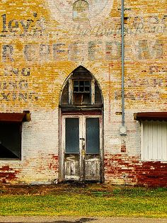 Abandoned | by Beth J18 Rural Indiana church converted to mill and then abandoned