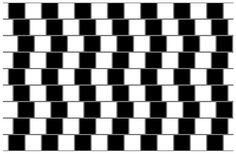 Сейчас. Считают, что горизонтальные линии на этом рисунке идеально ровные.