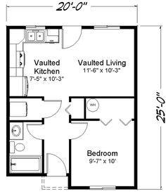 865 sq ft Cross Creek 1 story house floor plan Custom Build