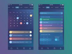 Time Management App by Tamara for Tubik Studio