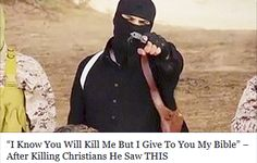 The Holy Spirit is transforming ISIS fighters! Amen and Glory to God! ↗️ClickOnTheLinkAbove↖️