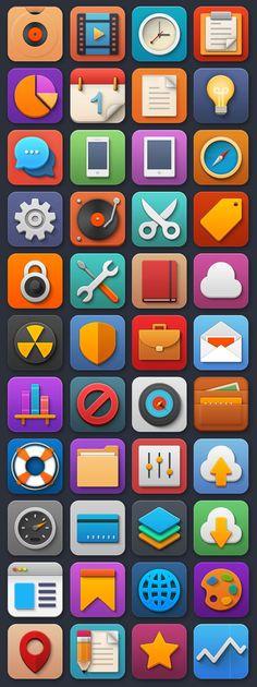 Softies, excelente colección de bellos iconos gratuitos para descargar