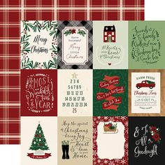 Echo Park - A Cozy Christmas Collection - 12 x 12 Double Sided Paper - 3 x 4 Journaling Cards — Frank Garcia Studio Christmas Makes, Cozy Christmas, Family Christmas, Christmas Ideas, Christmas Crafts, Scrapbook Journal, Scrapbook Page Layouts, Journal Cards, Scrapbook Paper