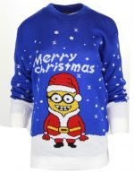 NEW WOMENS LADIES NOVELTY KNITTED MINION CHRISTMAS PARTY PLUS SIZE JUMPER.