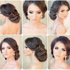 The Low Chignon is a sleek bridal hair messy bun which looks amazingly beautiful on bridesmaid as well. Best Wedding Hairstyles, Formal Hairstyles, Bride Hairstyles, Headband Hairstyles, Messy Hairstyles, Bridal Hair Updo, Wedding Hair And Makeup, Updo With Headband, Bridesmaid Hair