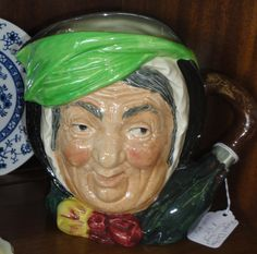 Large Royal Dalton Toby mug