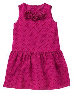 NWT Gymboree Bow Dress Blue Gold Holiday Christmas Girls Dress Sz 18-24 M