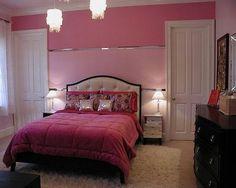 Glamour Girl Room   Pink / White / Black / Silver + I U003c3 The