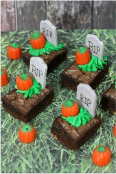 Brownies are already amazing. Give them a Halloween twist, and you've got a dessert that's a guaranteed hit. Get the recipe at Virtually Yours.