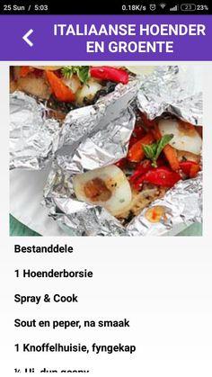 Die 28 Dae Eetplan Resepteboek APP beskikbaar in GooglePlay #28daeeetplan #die28daeeetplan #resepte #app #hoenderengroente #hoender #groente 28 Dae Dieet, Dieet Plan, 28 Days, Diets, Soup, Apps, How To Plan, Cooking, Healthy