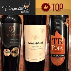 Os sócios do Kit TOP receberam um vinho da linha Ícones o Argentino da Patagônia Mainqué Merlot além do Português TR Tinta Roriz da Quinta do Pôpa e o Tannat Uruguaio da Pizzorno #instavinho #instawine #vinho #vin #wine #wein #vino #winetime #winelover #pizzorno #tannat #uruguai #mainque #merlot #patagonia #argentina #douro #portugal #quintadopopa #degusta #degustaclub  by degustacluboficial