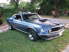 1969 Ford Mustang Mach I Super Cobra Jet