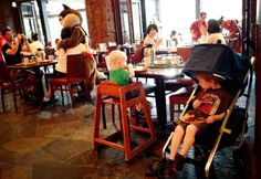 Tackling a child's fear of mascots and characters while traveling @Walking on Travels