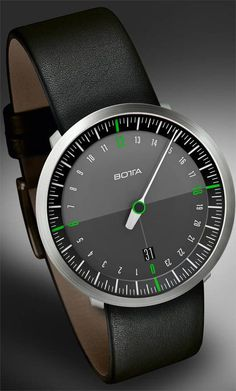 Watchismo Times: New Botta NEO One Handed 24 Hour Dial Watches