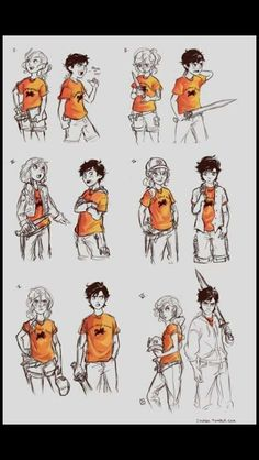 Percabeth through the years