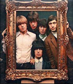 The Rolling Stones; Brian Jones, Mick Jagger, Keith Richards, Charlie Watts, Bill Wyman