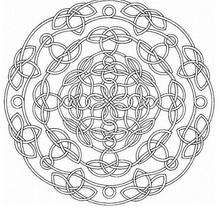 Mandala  64 - Coloring page - MANDALA coloring pages - Mandalas for EXPERTS