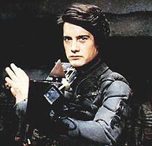 Paul Atreides (Kyle MacLachlan) wielding a Weirding Module in David Lynch's Dune (1984)