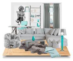 """Untitled #266"" by vasso960 ❤ liked on Polyvore featuring interior, interiors, interior design, home, home decor, interior decorating, Suki Cheema, Blu Dot, Selamat Designs and Liz Claiborne"