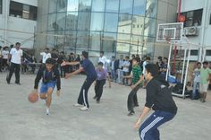 Outdoor Sports at Annual Sports day  - Narsee Monjee College of Commerce and Economics.