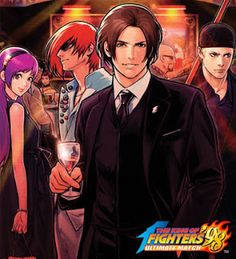 I wish that this had been the KOF '98 Ultimate Match cover in North America. Everyone looks so fancy.