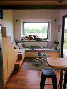 66+ Remarkable Unique Tiny Home Design Ideas #homedesignideas #homedesigninteriorapartments #homedesignonabudget