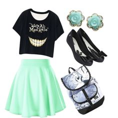 Alice by yulia-sorokin on Polyvore featuring Melissa, Disney and Michael Valitutti