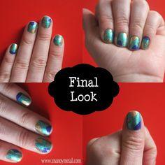DIY: Geometric Nail Art!   Step by Step  #nailart #nailpolish #diy #stepbystep #nails #easy #fun