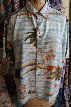Hawian Shirt REF 230A by CherryPickedChic on Etsy