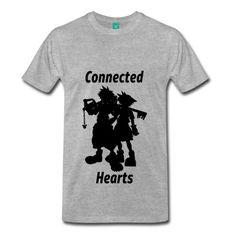 Connected Hearts #Hearts #Videogame #Gamer #Gaming #Sora #Keyblade #Kingdomhearts