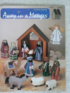 Annie's Attic 87P22 'Away in a Manger' by SimplyElegantVintage