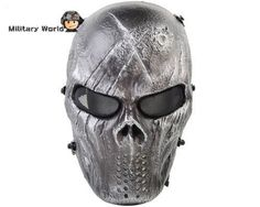Full Face Mask Mesh Eye Protector Paintball Accessories for Outdoor