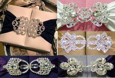 Silk box wedding invitation buckles