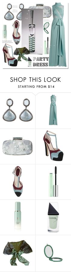 """Glass Series 4/5 - Perfume Bottle"" by bellamonica ❤ liked on Polyvore featuring Bavna, Elie Saab, Oscar de la Renta, Steuben, Clinique, Tatcha, GUiSHEM and Jayson Home"