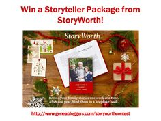 Win a FREE Storyteller Package valued at $79 from StoryWorth