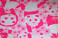 Vintage Lilly Pulitzer: this print celebrated the arrival of Ling-Ling and Hsing-Hsing in the early 70s.