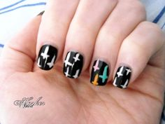 Crosses by Anid Harker | Hearty Nails