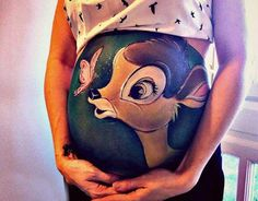 Artist Creates Amazing Paintings On the Bellies of Pregnant Women - UK-based artist Carrie Preston paints on the bellies of pregnant women, turning their baby bumps into beautiful paintings… Pregnancy Tattoo, Bump Painting, Painting Art, Pregnant Belly Painting, Belly Art, Belly Bump, Amazing Paintings, Baby Belly, Baby Kind