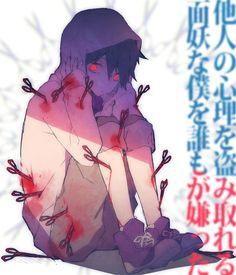 Bloody anime boy Tokyo Teddy Bear