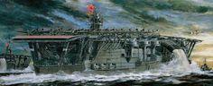 "Portaaviones japonés ""Akagi"", 1941."