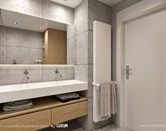 Nowoczesna łazienka - umywalka i beton architektoniczny od LUXUM - Łazienka, styl nowoczesny - zdjęcie od Luxum