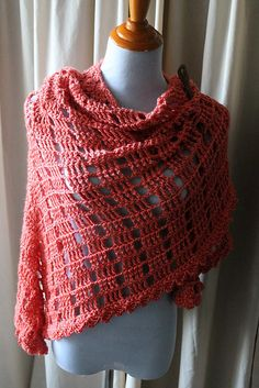 Ravelry: Project Gallery for Sunspree One Skein Shawl pattern by Rebecca Velasquez