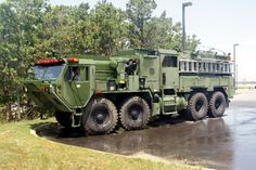 military fire trucks | Otis Army TFFT